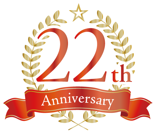 22th anniversary