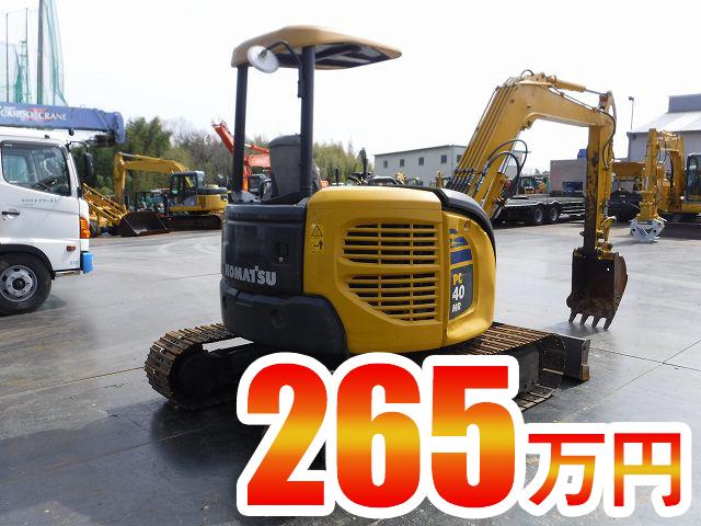 ユンボ(4,5t) コマツ(小松) PC40MR 共用配管 ユンボ(バックホー)の買取価格相場