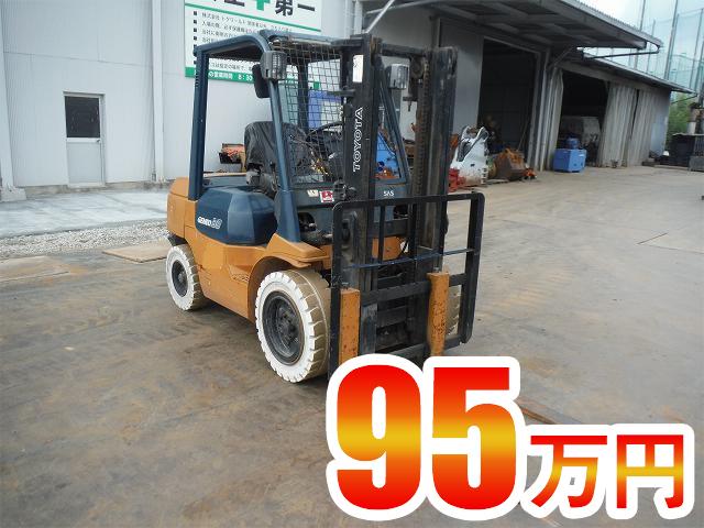 フォークリフト トヨタ 7FD30