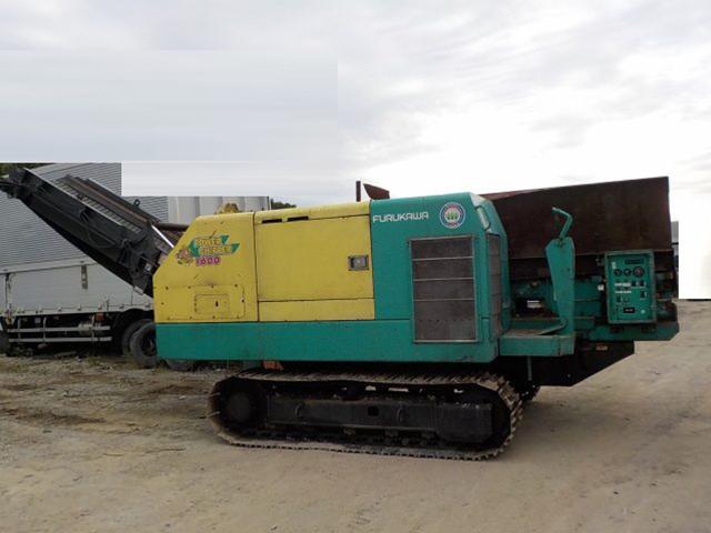自走式木材破砕機 古河 FPC1600