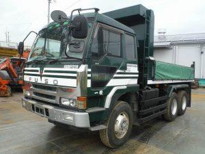 トラック&車両 KC-FV419JD ダンプ 三菱 10t ディーゼルエンジン