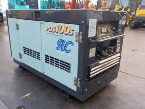 発電機・溶接機等 PDS100SC コンプレッサー 北越 0.7Mpa ディーゼルエンジン