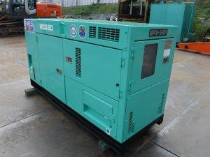 発電機・溶接機等 NES60SHE 発電機 日本車輌 60KVA ディーゼルエンジン