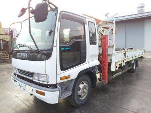 トラック&車両 KC-FRR33L4 ユニック車 いすゞ