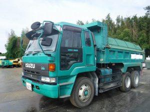 トラック&車両 U-CXZ72JD ダンプ いすゞ 9t