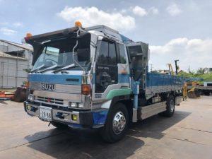 トラック U-CVR70K ユニック車 いすゞ 10t ディーゼルエンジン
