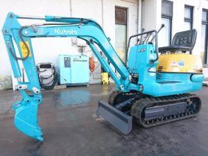 ミニユンボ K-005-3 クボタ 0.01㎥