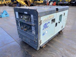 コンプレッサー PDS100SC 北越工業(AIRMAN) 0.7Mpa